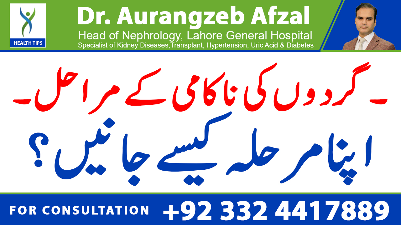 Kidney Failure stages, How to know your own stage? 5 CKD Stages   KIDNEY FAILURE Series   Urdu/Hindi