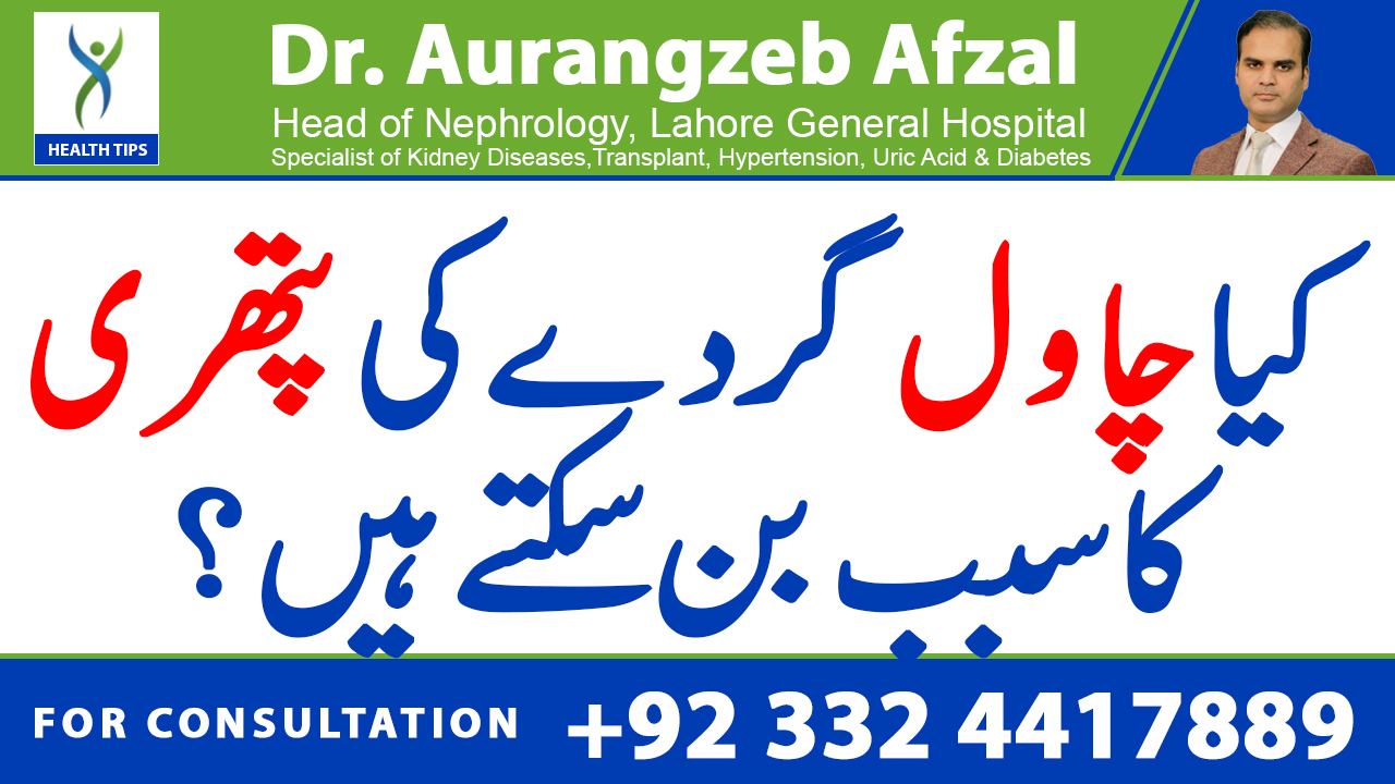 Can Rice cause Kidney stones? (Urdu/Hindi)