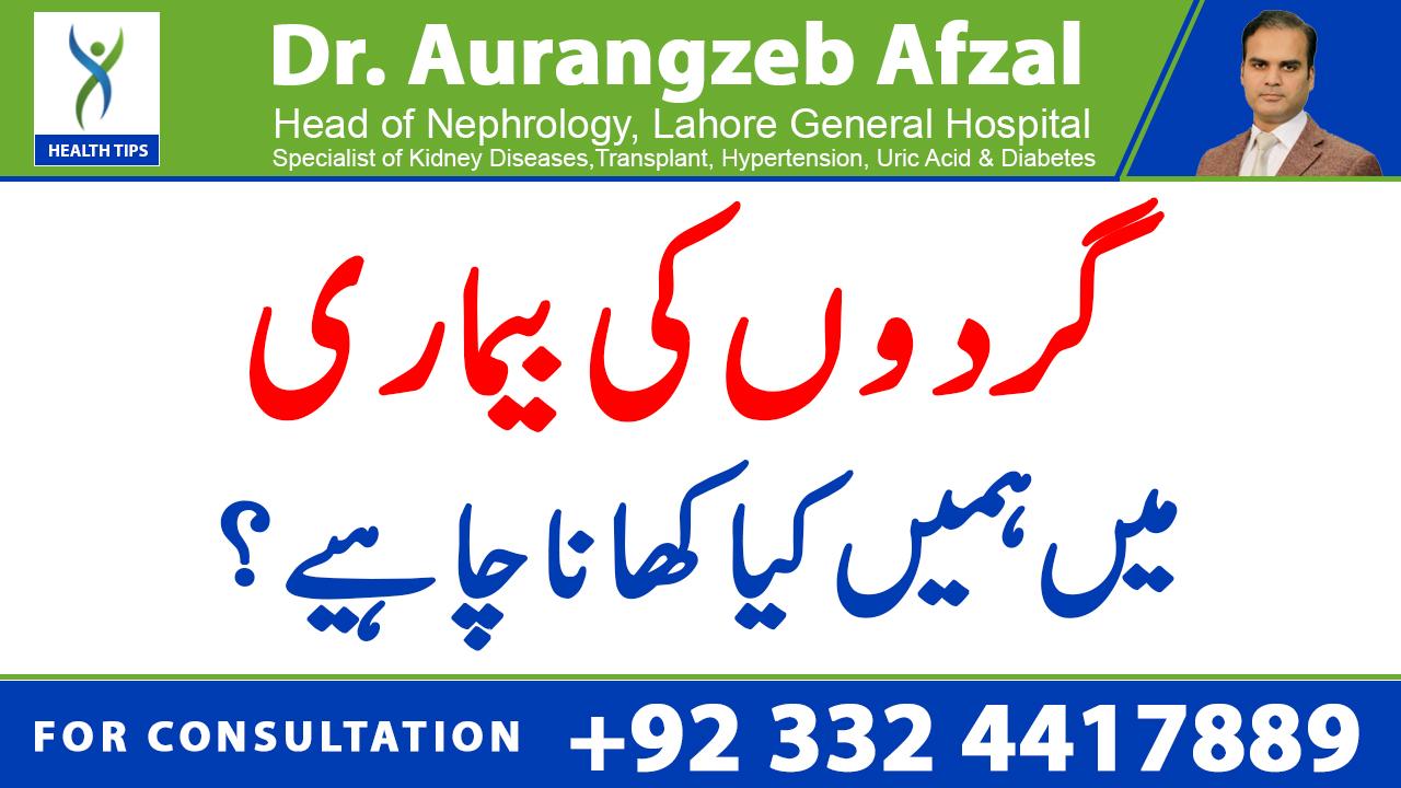 Diet in Kidney disease/ what should we eat in kidney failure | KIDNEY FAILURE Series | (Urdu/Hindi)