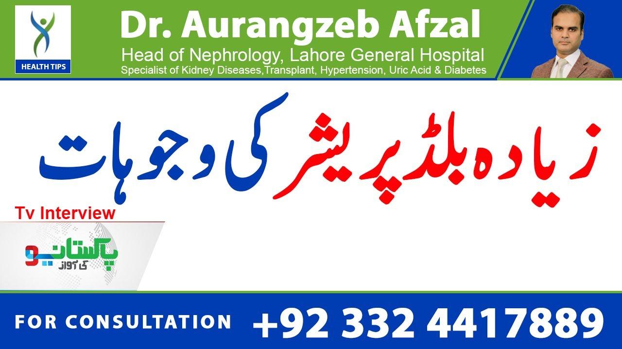 High Blood Pressure | Symptoms & Solution | Neo Pakistan TV interview | Urdu/Hindi