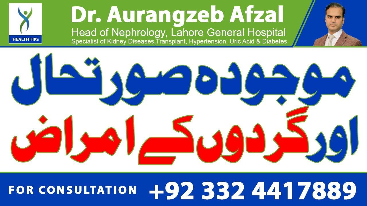 Kidney Problems these days - Urdu/Hindi
