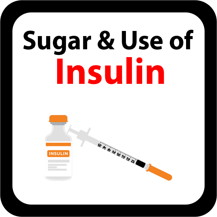 Sugar & Use of Insulin